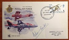 GB FDC 1968 ROYAL AIR FORCE 1/- SLEAFORD CANCEL. DOUGLAS BADER SIGNED!!!!