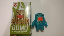 "DOMO SERIES 5 QEE 2"" COLLECTIBLE EDITION MINI FIG: Blue/Green/Turq.Glitter Domo"