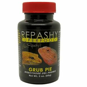 Repashy Grub Pie Insectivore Gel 3 oz Leopard Gecko BSFL