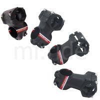 UNO 3D forged Alloy Short Stem Road/MTB Bike 31.8 x 35/45/55/65mm, Black/Red
