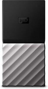 Western Digital WD 512GB My Passport SSD Portable Storage USB 3.1 Slim and Thin