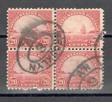 R6993 - USA 1922 - QUARTINA GOLDENGATE - VEDI FOTO