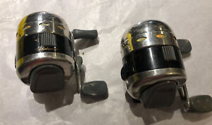 Lot 2 Vintage Shakedpeare Synergy 2001SA CLEAN~WORKS