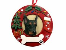 E&S Pets Doberman Pinscher Personalized Christmas Ornament