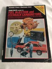 New listing Chilton's guide to fuel injection and feedback carburetors 1978-1985