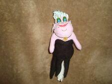 "Disney Little Mermaid Sea Witch Ursula Finger Puppet Plush 6"" T"