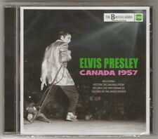 "ELVIS PRESLEY CD ""CANADA 1957"" 2016 ELVISONE LIVE RECORDIINGS & RADIO BROADCASTS"
