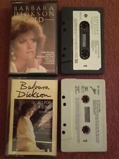 "Barbara Dickson ""All For A Song"" & ""Gold""  Original Issue Music Cassette Albums"