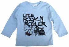 Magliette e maglie azzurro con maniche lunghe per bambino da 0 a 24 mesi