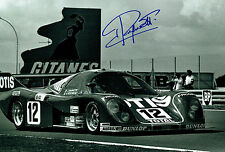 Jean RAGNOTTI SIGNED Ford Cosworth Le Mans 24hr Autograph 12x8 Photo AFTAL COA