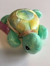 PRECIOUS MOMENTS - Tender Tails Turtle - Bean Bag Plush Stuffed Animal Toy 1999