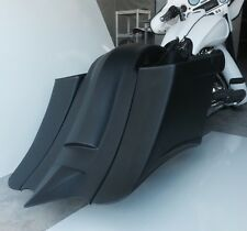 """7"""" extended saddlebags and fender stretched saddlebags for harley touring 97-08"""