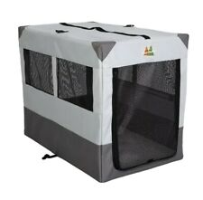 "Midwest Canine Camper Sportable Crate, Gray, Large-42"" *Niob"