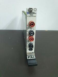 NI 4060 5 1/2 Digital Multimeter Card