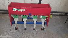 Dippelmaschine Sämaschine Einachser Greenagrar SM1-4 Karotten Mais Getreide -