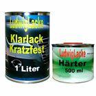 Klarlack Set 1,5 Liter 2K HS Klarlack glänzend mit Härter für Autolack