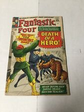Fantastic Four 32 Very Good+ Vg+ 4.5