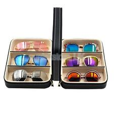 6 Slot Sunglass Eyewear Display Storage Case Organizer for Glass Box Stand
