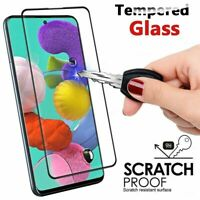 For Samsung A41 A31 A11 A01 A21S Galaxy Tempered Glass Full Screen Protector