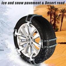 Universal Anti-skid Car Truck Steel Tire Chain Winter Snow Belt for 205-225mm