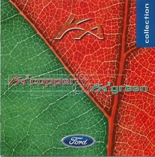 Ford Ka 2 Copper & Green 1998-99 Original UK Sales Brochure Pub. No. FA1342
