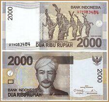 INDONESIA 2000 RUPIAH UNC # 840