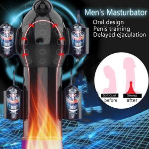 12 Speeds Male Penis Head Glans Trainer Massager Vibrating Masturbator Sex Toys
