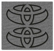 Toyota Logo 2 Aufkleber Decal Sticker Yaris Corolla Avensis Prius Toyo003
