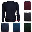Maglia Uomo Girocollo Pullover Casual XXXL 3XL 4XL 5XL maglione maglietta jeans