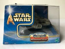 Star Wars Action Fleet Millennium Falcon - Battle Damaged - Hasbro 2002