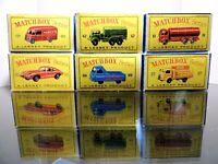 Matchbox Lesney Special  Lot/ 6 X empty Repro D style Box