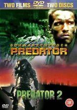 Predator 1 & 2 DVDs Arnold Schwarzenegger 2 DVD Set - Region 2