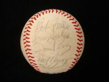 Cleveland Indians Oldtimers Autographed AL Baseball – 21 Signatures