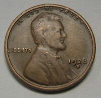 1928-S Lincoln Wheat Cent in Average Circulated Condition     DUTCH AUCTION