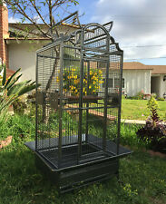 """64"""" Large Bird Parrot Open PlayTop Cage Cockatiel Macaw Conure Aviary Finch 150"""