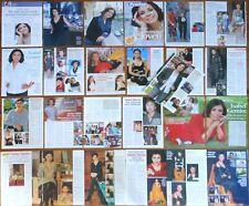 ISABEL GEMIO coleccion prensa 1990s/10s fotos tv presentadora revista clippings