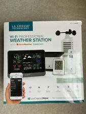 La Crosse Technology C83100-INT Professional Weather Station - Black - Wi-Fi
