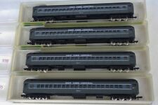 Set Of 4 Model Power N Scale New York Central Heavy Weight Passenger Cars
