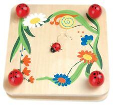 Children'd Wooden Flower Press Ladybird Ladybug Art Craft
