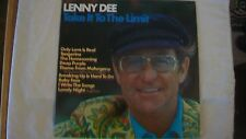 Lenny Dee Take It To The Limit LP MCA Records MCA-2200