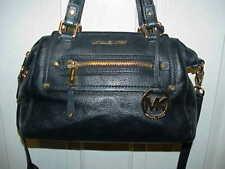 #72 LOT 2 BEAUTIFUL MICHEAL KORS BLACK BAG BROWN HAND BAG CLEAN SIGNED ORIGINALS