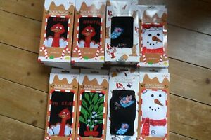 21 Pairs Sock Shop Christmas Socks Mixed Designs Size 4-8 & 7-11 All new