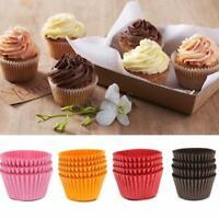 100X Cupcake Wrapper Paper Cake Case Baking Cups Liner Muffin Dessert Decoration