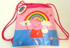 SACCA ROSA PEPPA PIG by ACCADEMIA bimba scuola tempo libero TA81