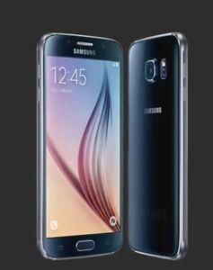 SAMSUNG GALAXY S6 32GB Black Sapphire - Unlocked - Smartphone