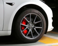 18inch Car Red Front & Rear Brake Caliper Cover 4PCS For Tesla Model 3 201-2020
