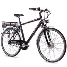 28 Zoll Alu E-Bike Elektrofahrrad City Bike CHRISSON E-GENT 7G NEXUS schwarz