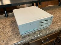 Vintage Commodore Colt Dual Floppy computer powers on