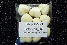 10 Fresh coffee highly scented wax melt/tarts