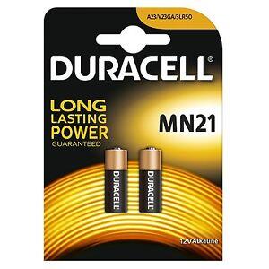 2x Pila Duracell 23A LRV08 MN21 V23GA LR23A 23A L1028 Bateria - 12V
